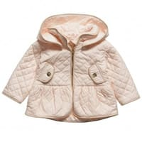 Chloe Girls Pink Quilted Jacket