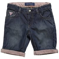 Guess Boys Blue Long Denim Shorts