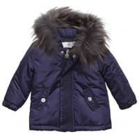 Young Versace Baby Boys Down Padded Coat