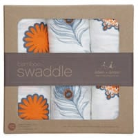 aden & anais Bamboo Muslin Swaddle Blankets (3 Pack)