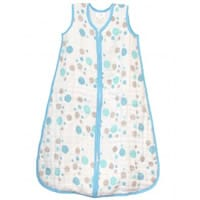 aden & anais Blue Dots Cotton Cozy Baby Sleep Bag