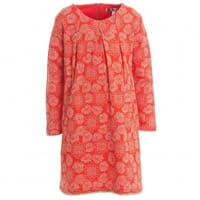 Anne Kurris Red Cotton Floral Dress