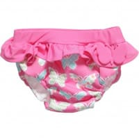 Archimede Girls Butterfly Print Swim Nappy