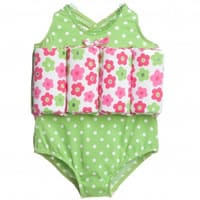 Archimede Girls Floral Learn To Swim Float Suit