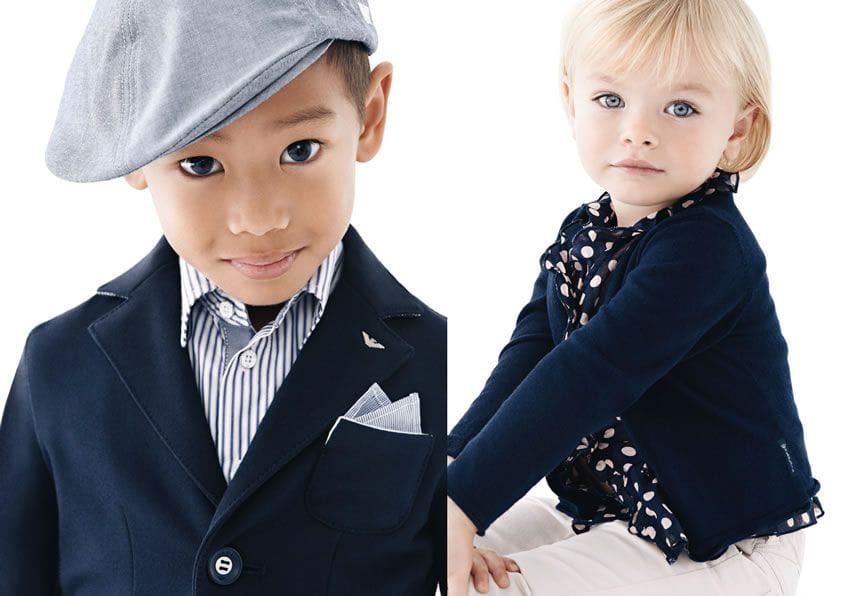 Armani Junior Children Clothes Kids Baby Luxury Clothes
