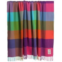Avoca Cashmere-Wool Throw (183cm)