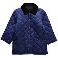 Barbour Liddesdale Bright Blue Quilted Jacket