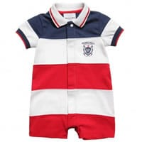 Beverly Hills Polo Club Baby Boys Jersey Shortie