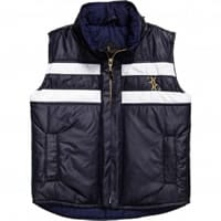 Billionaire Boys Navy Blue Sleeveless Jacket