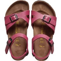 Birkenstock Girls Pink Pearlescent Sandals (Rio)