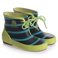 Celavi Boys Blue and Green Short Wellies
