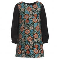 Charabia Floral Embroidered Dress