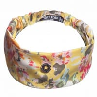 Denny Rose Young Girls Yellow Floral Headband