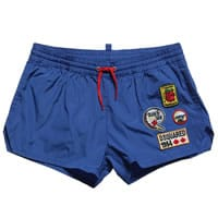 Dsquared2 Boys Blue Swim Shorts