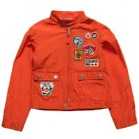 Dsquared2 Boys Orange Lightweight Jacket
