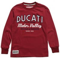 Ducati Boys Red Jersey Top