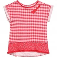 Ermanno scervino Girls Red Cotton Jersey T-Shirt