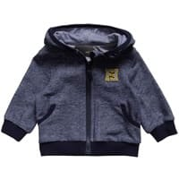 Fendi Baby Boys Blue Jersey Hooded Top