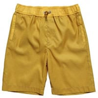 Fendi Boys Yellow 'FF' Zucca Print Swim Shorts