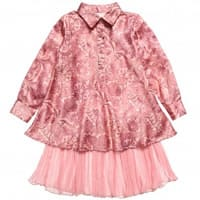 From the world Girls Tunic & Tulle Dress Set