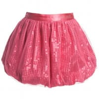 Guess Pink Sequin Tulle Skirt