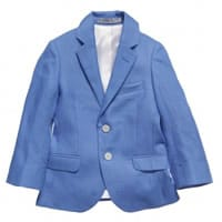 Hacket London Boys Blue Linen Blazer