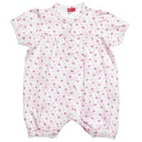 Hanssop Baby Girls Pink Cotton Shortie