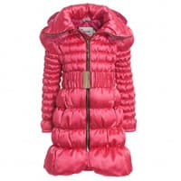 canzitex Girls Goose Down Padded Coat With Hood
