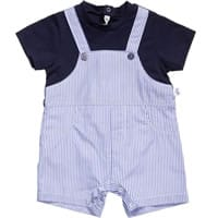 Il Gufo Baby Boys Layered Look Cotton Shortie