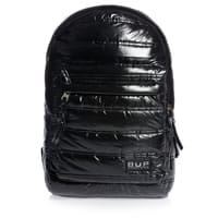 Jacob Bags Black Puffer Backpack (42cm)