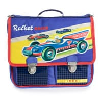 Jacob Bags Blue 'Cars' School Backpack (29cm)
