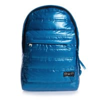 Jacob Bags Blue Puffer Backpack (42cm)