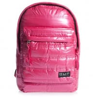 Jacob Bags Pink 'Buckle Up' Quilted Backpack (42cm)