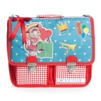 Jacob Bags Red 'Kitty' School Backpack (29cm)