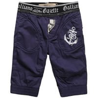 John galliano Baby Boys Blue Shark Trousers