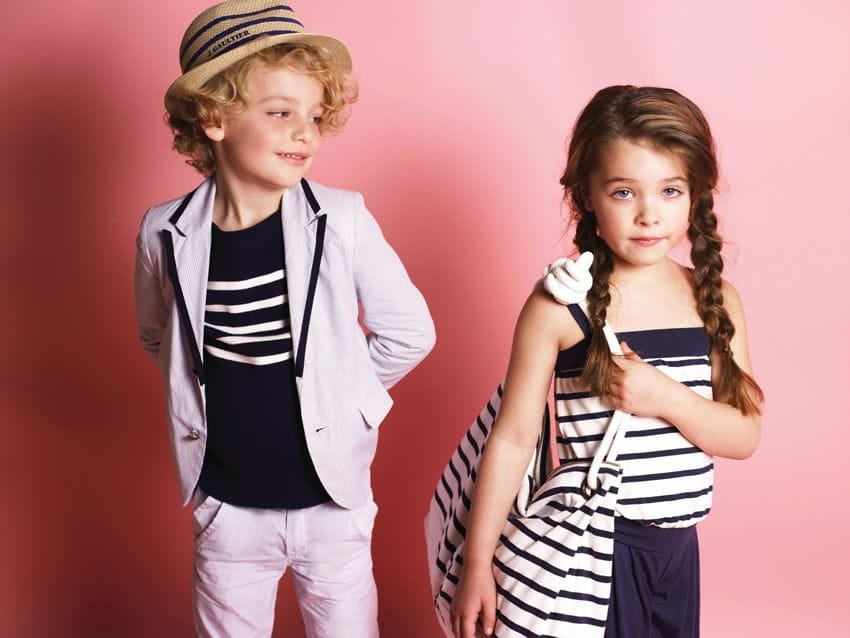 Junior Gaultier Girls Clothes