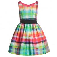Junior Gaultier Neon Print Dress
