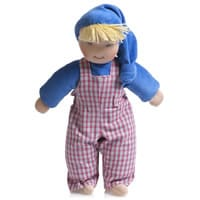 Kathe kruse Blue Soft Fleece Waldorf Boy Doll (35cm)