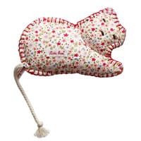 Kathe kruse Floral Cat Soft Toy Baby Rattle (17cm)