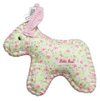 Kathe kruse Mini Donkey Soft Toy Rattle (15cm)