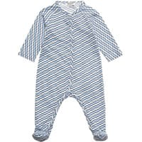 Kenzo Boys Blue Cotton Jersey Babygrow