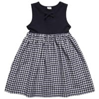 Konigsmuhle Blue Checked Cotton Dress