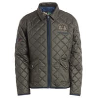 La martina Boys Green Quilted Jacket