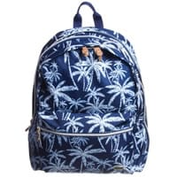 Lacoste Blue Tropical Print Backpack (40cm)