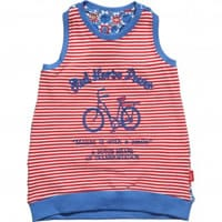 Oilily Girls Red Cotton 'Tooske' Top