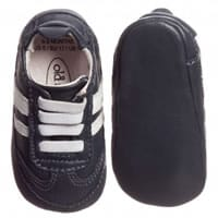 Old soles Baby Boys Blue Pre-Walker Trainers