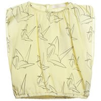 Pale Cloud Girls Yellow Silk 'Drew' Blouse