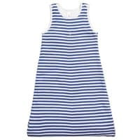 Petit Bateau Blue Striped Cotton Jersey Baby Sleep Bag