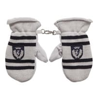 il trenino Grey Stripes Mittens