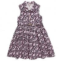 juicy couture Pink Cheetah Cotton Dress